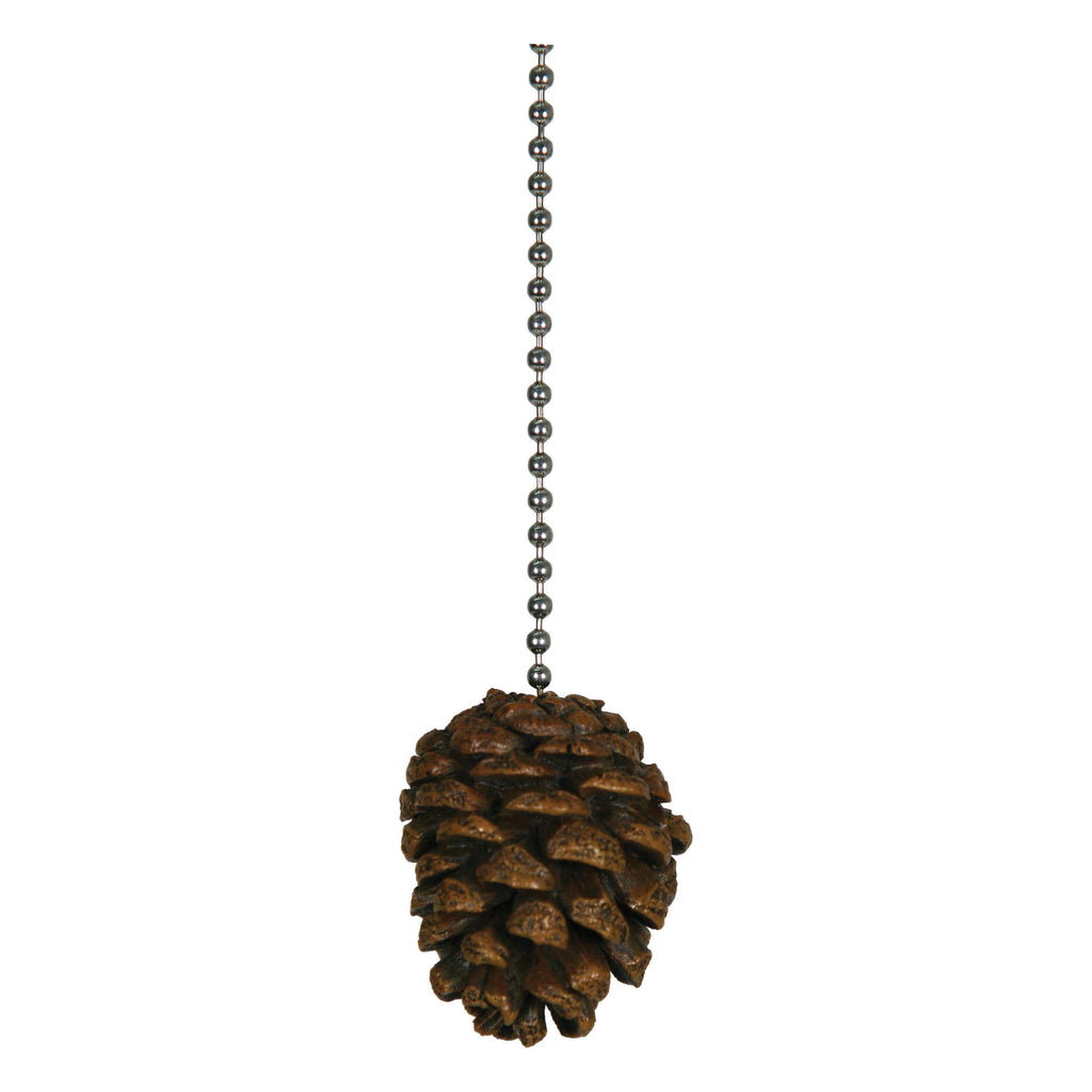 Ceiling Fan Pull - Pine Cone