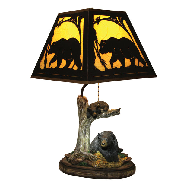 Table Lamp - Bear Metal Shade