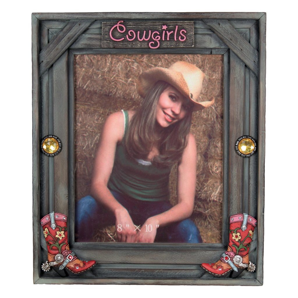 Picture Frame 8in x 10in - Cowgirl