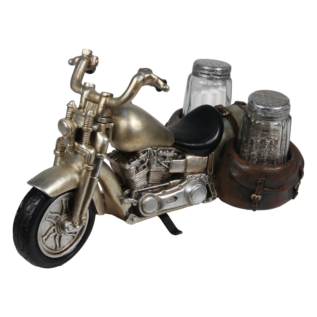 Salt and Pepper Shakers - Motorcycle