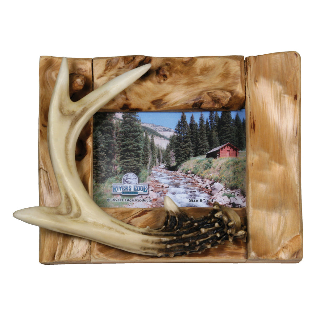Picture Frame 4in x 6in - Deer Antler