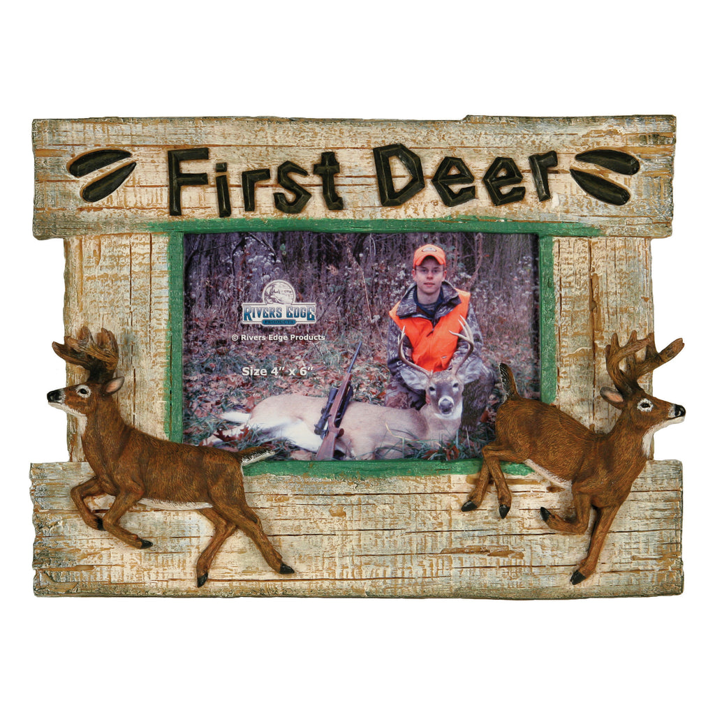Picture Frame 4in x 6in - First Deer