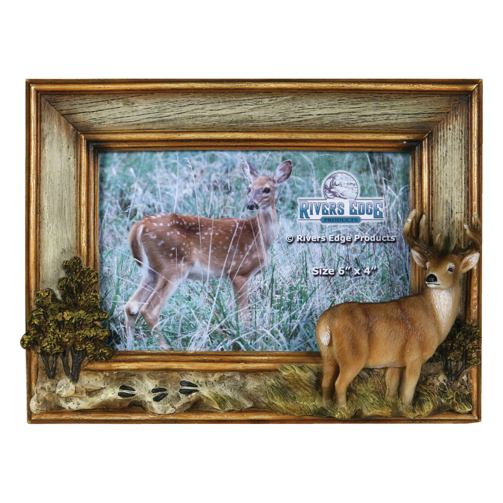 Picture Frame 4in x 6in - Deer