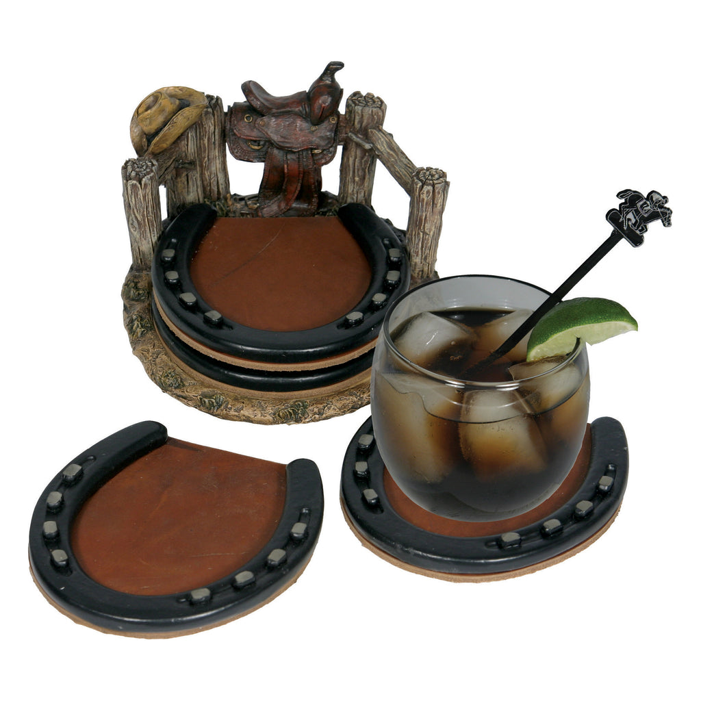 Coaster Set - Horseshoe