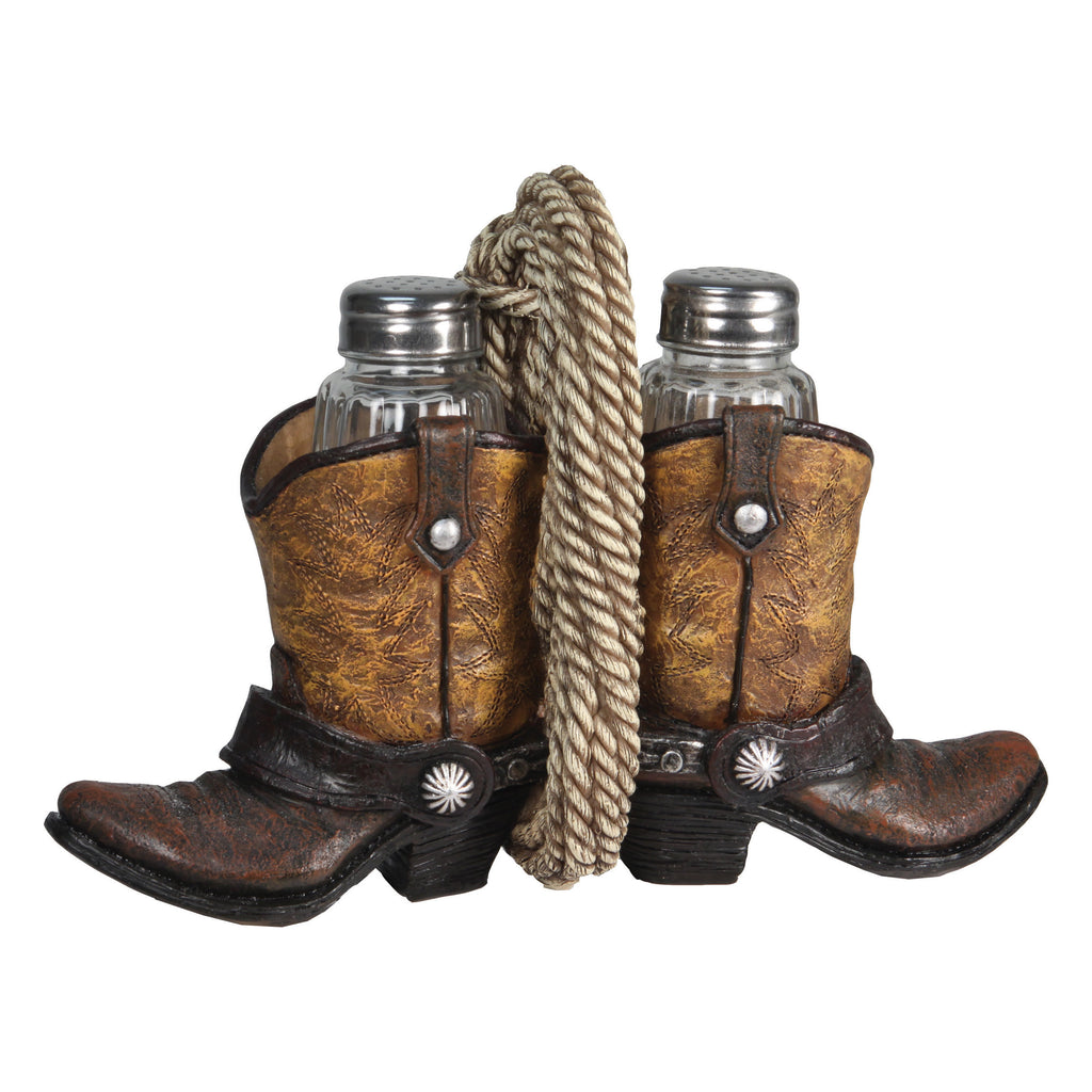 Salt and Pepper Shakers - Cowboy Boot