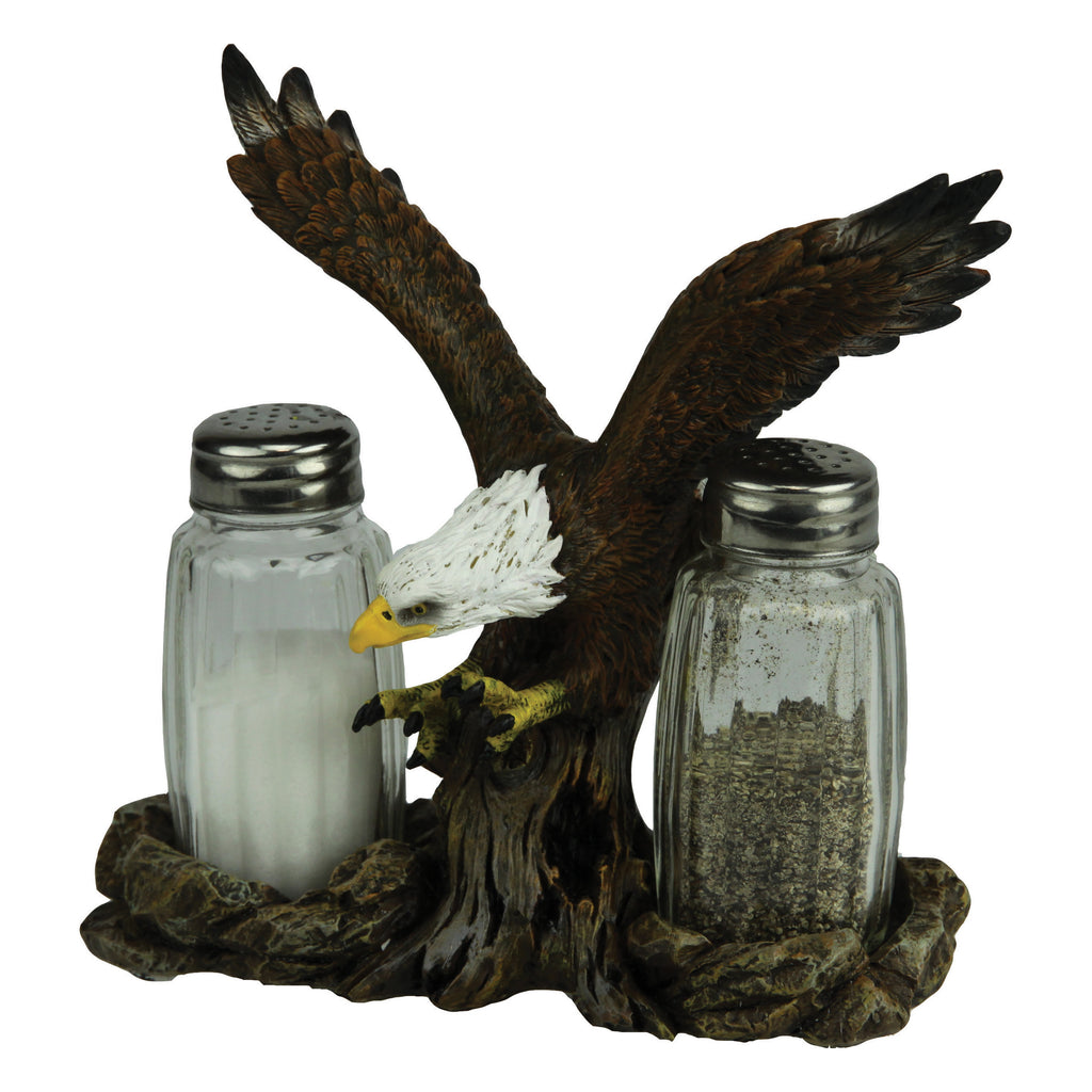 Salt and Pepper Shakers - Eagle