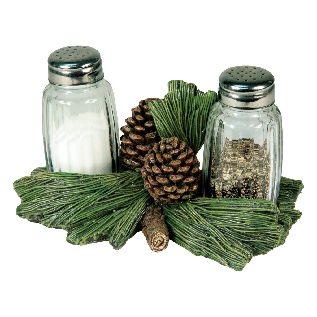 Salt and Pepper Shakers - Pine Cone