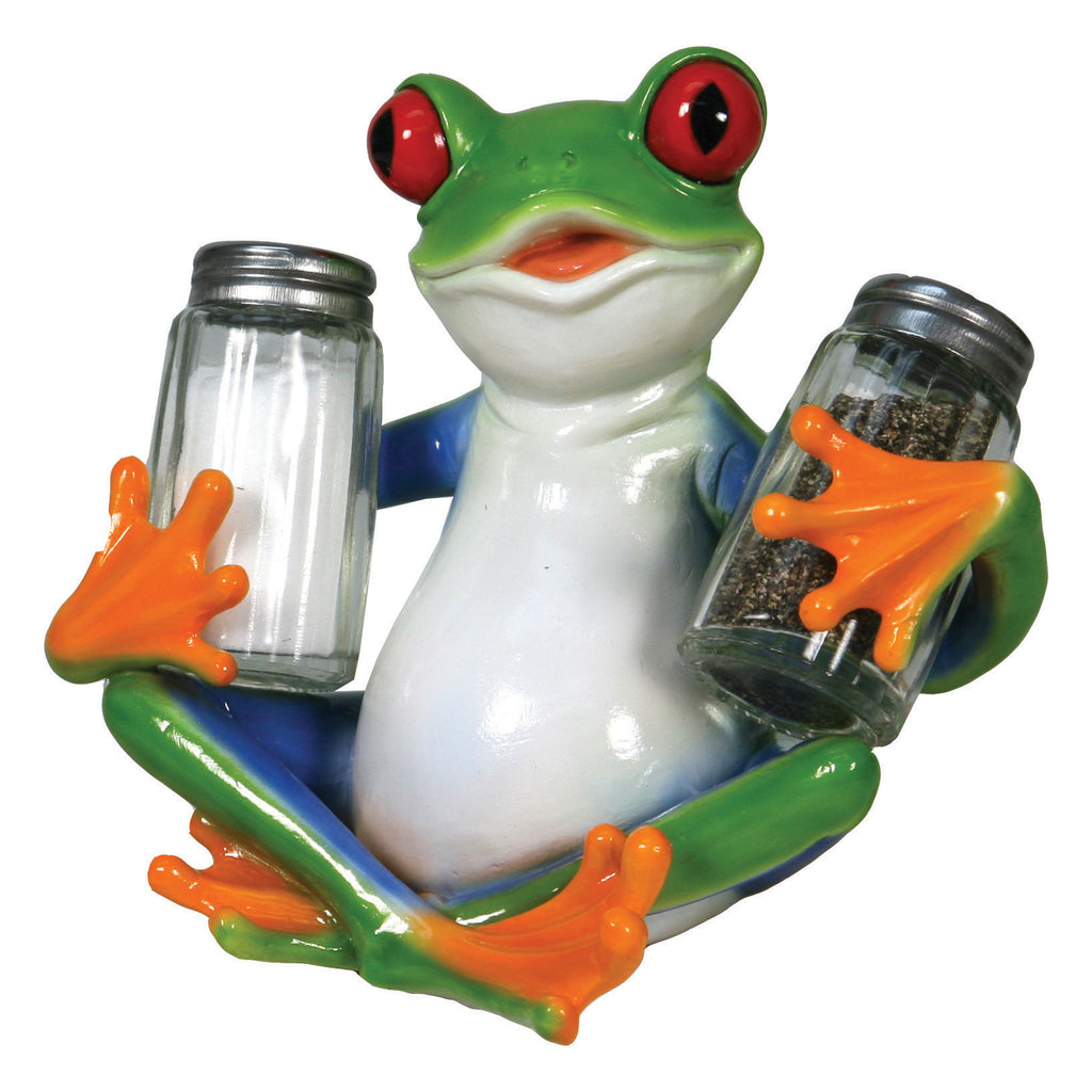 Salt and Pepper Shakers - Tree Frog