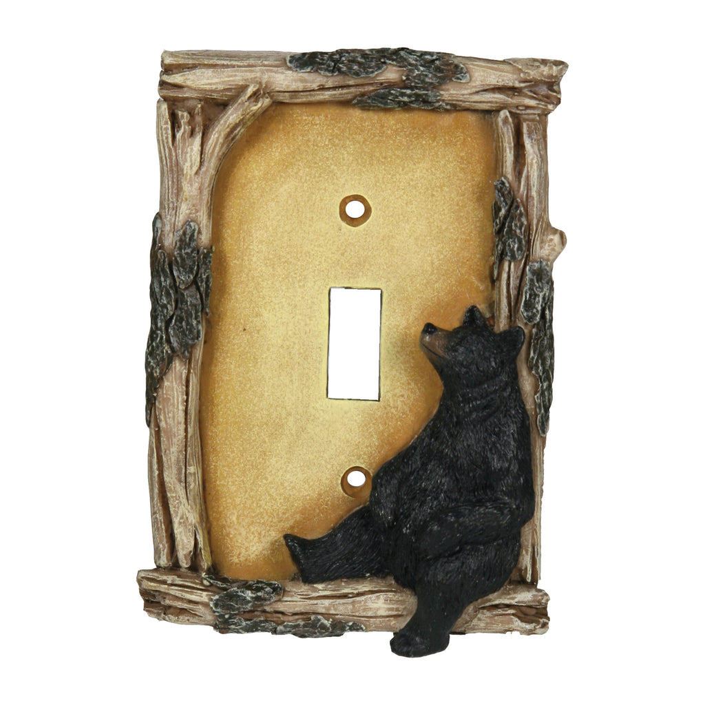 Electrical Cover Plate Switch Single - Bear