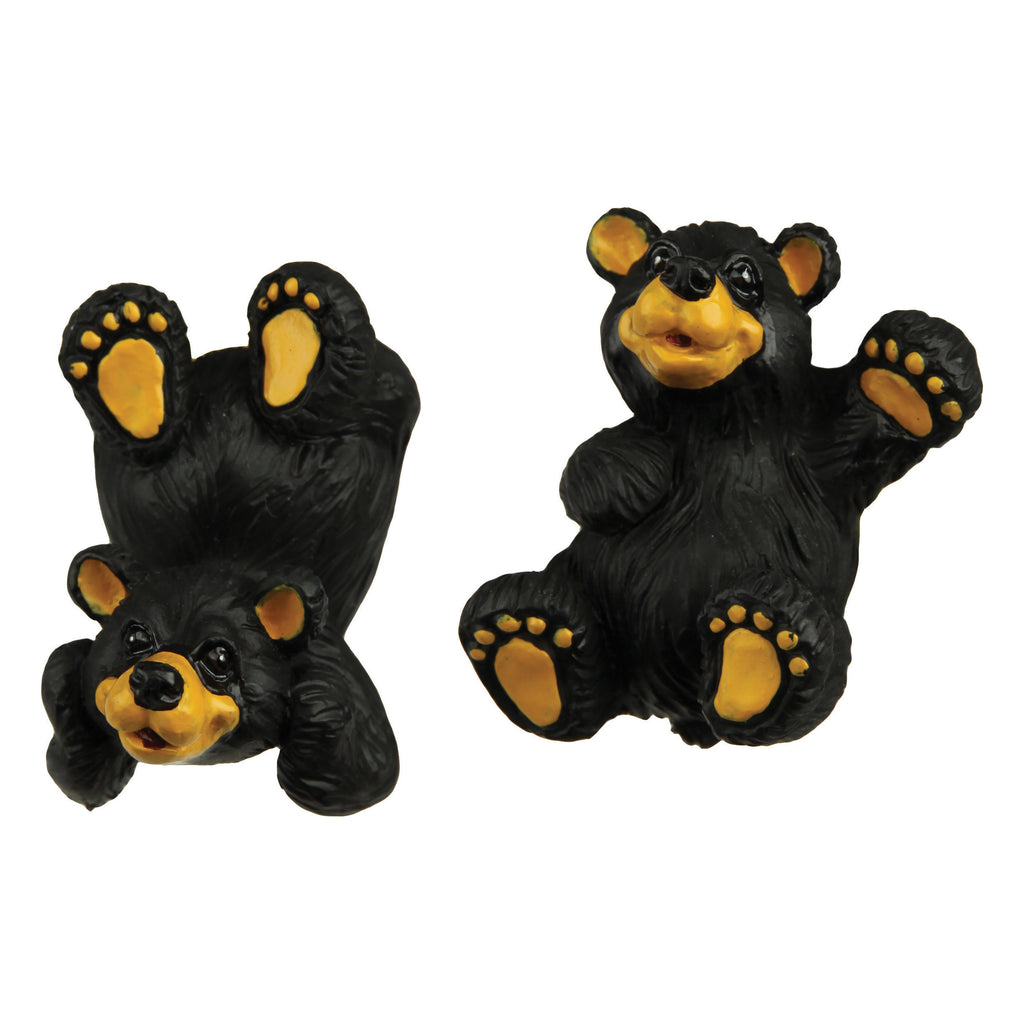 Drawer/Cabinet Knobs 2-Pack - Black Bear