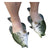 Fish Sandals, Crappie, Youth Sizes