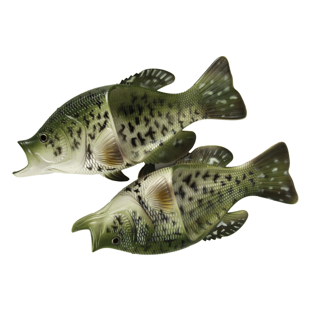 Fish Sandals, Crappie, Adult Sizes