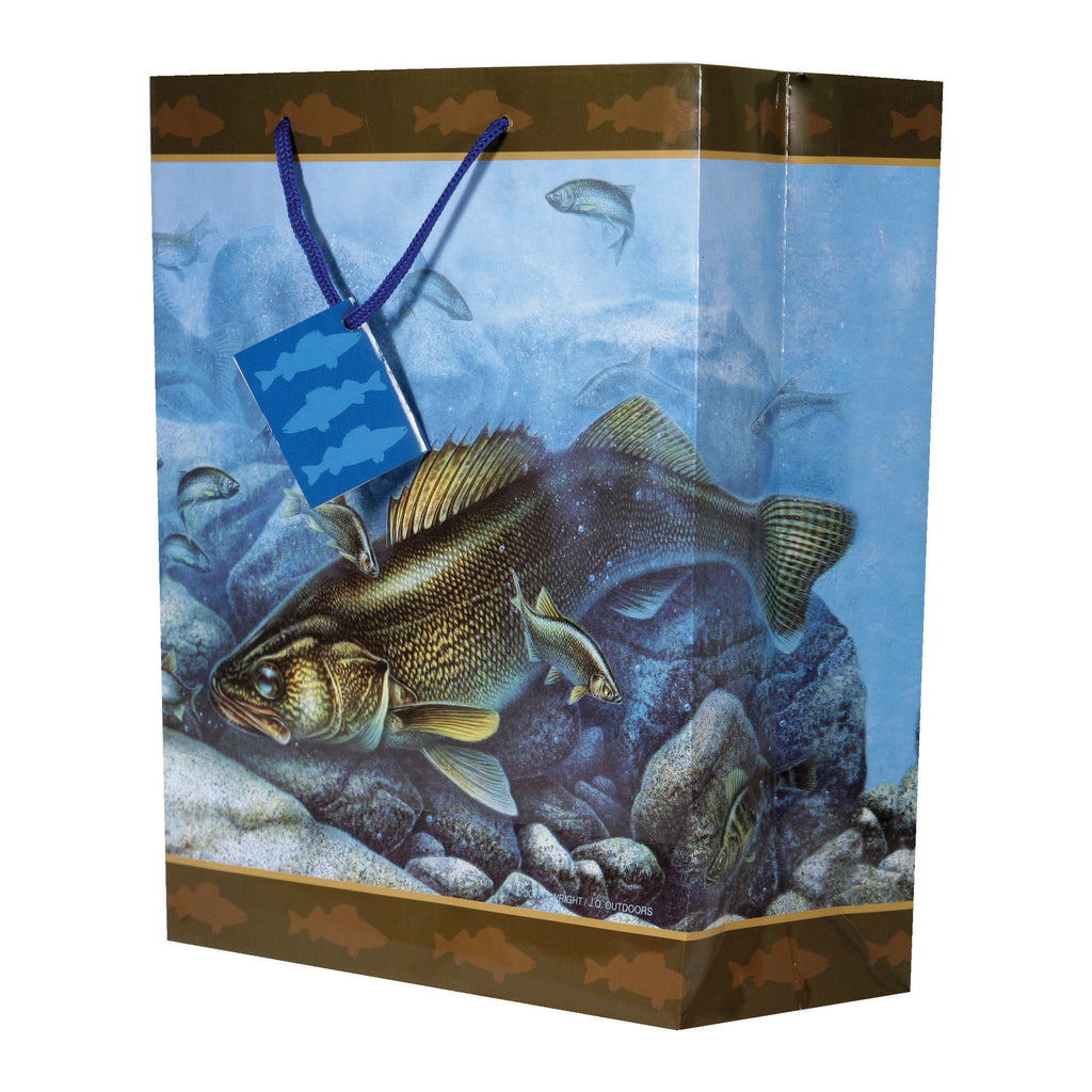 Gift Bag Medium - Walleye