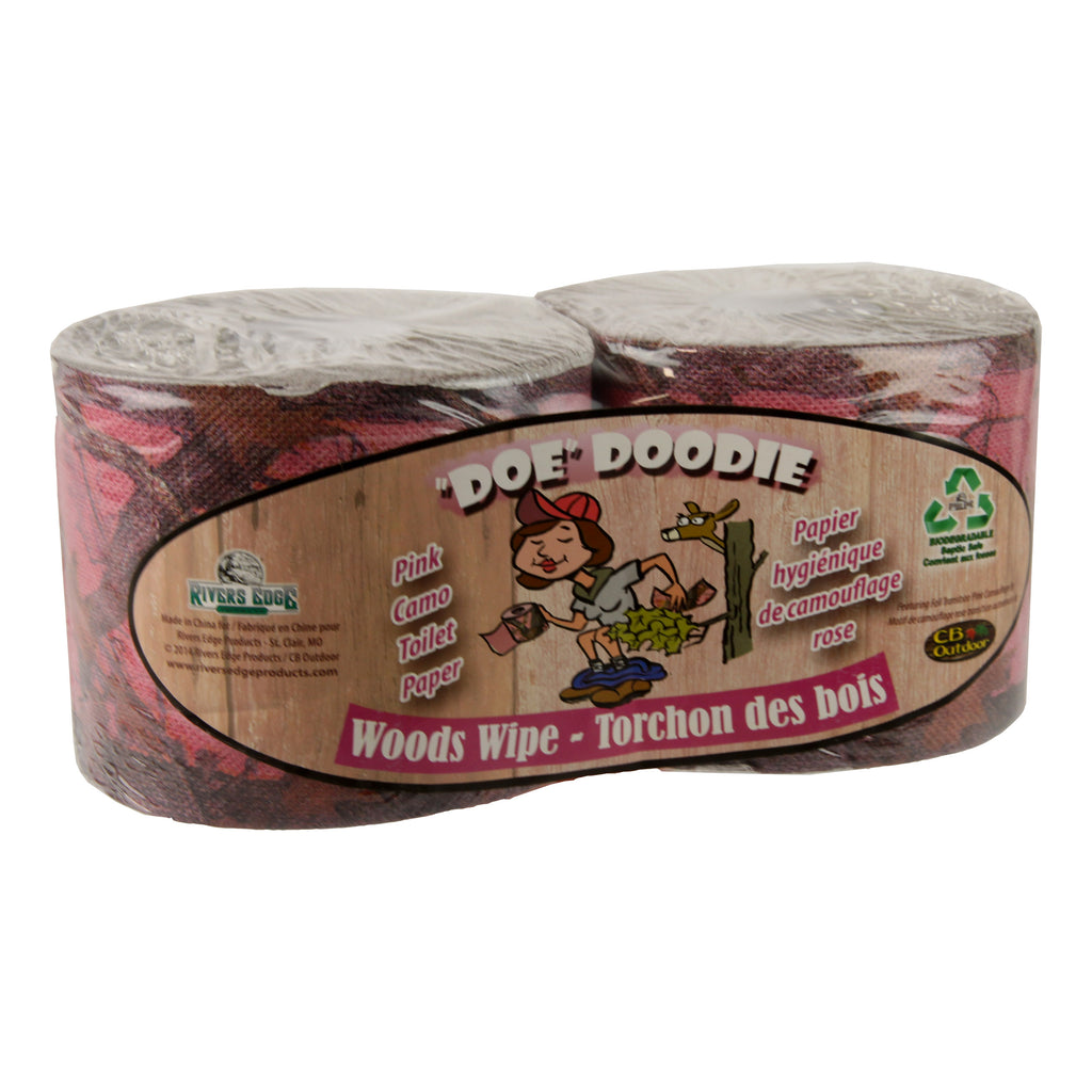 Toilet Paper 2-Pack - Pink Camo
