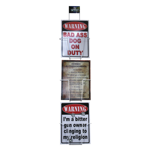 Display - Metal Sign