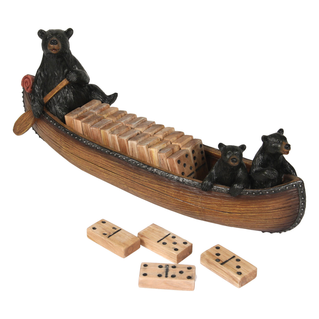 Domino Set - Canoe