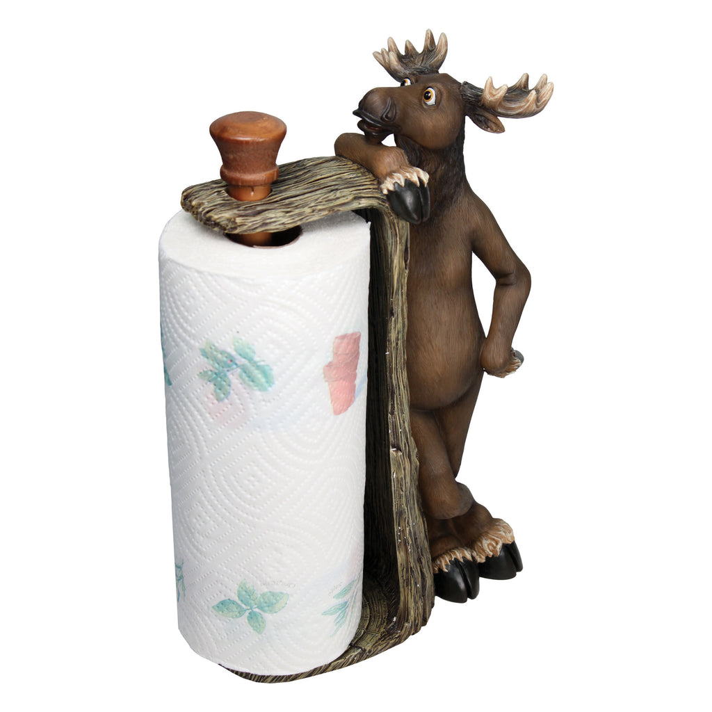 Paper Towel Holder - Moose