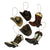 Christmas Ornaments 6-Pack - Western Cowboy