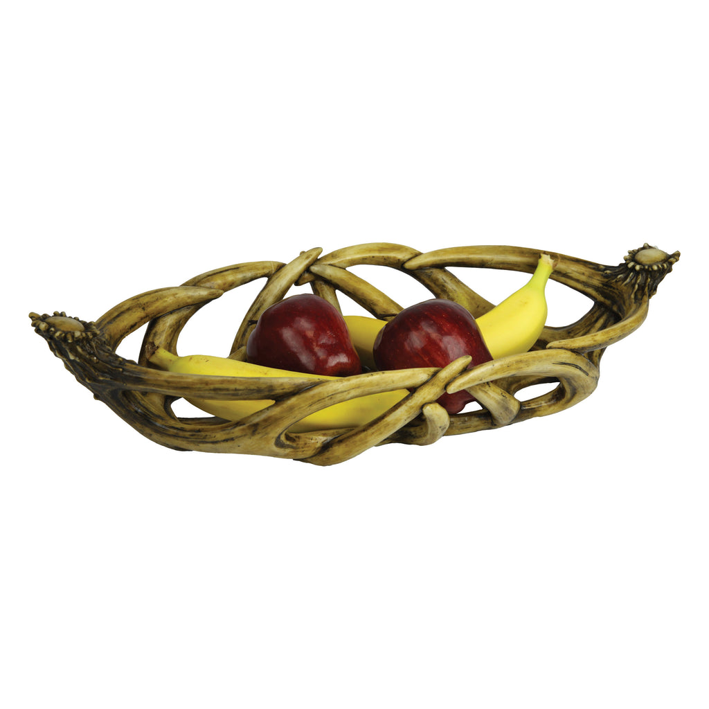 Fruit Bowl - Oval Antler