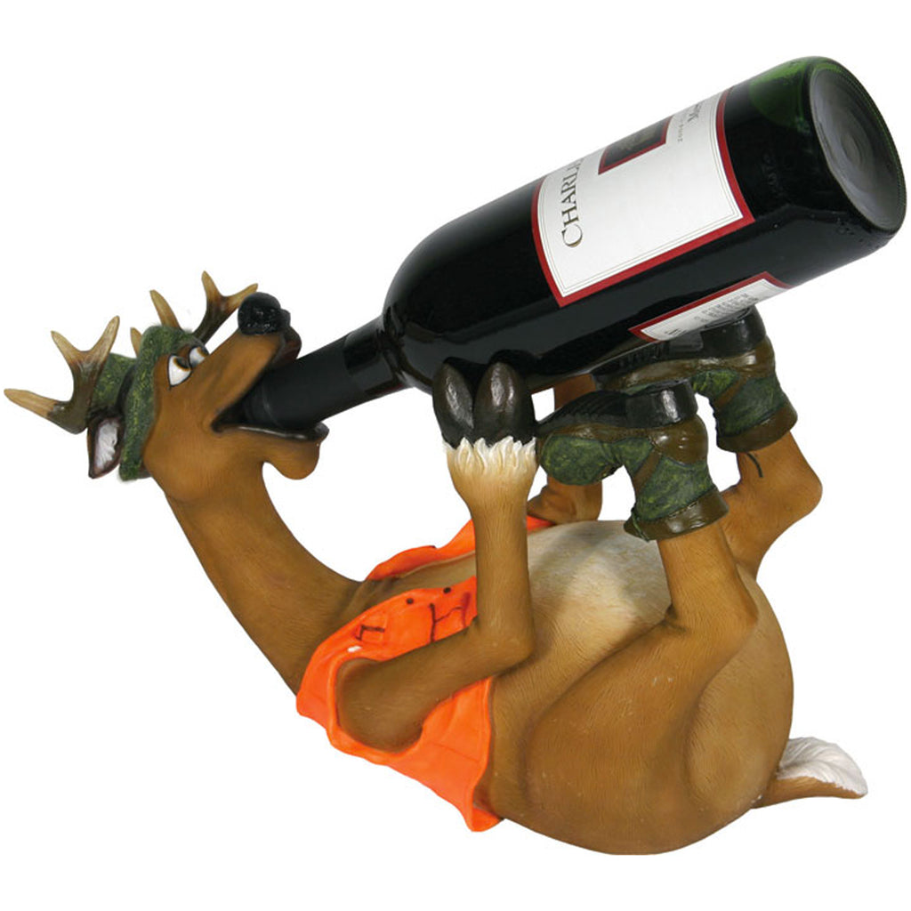 Wine Bottle Holder - Deer