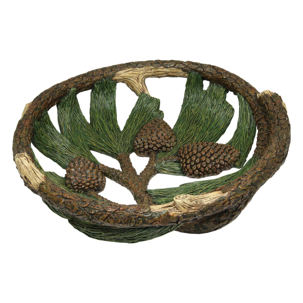 Pinecone Fruit Bowl