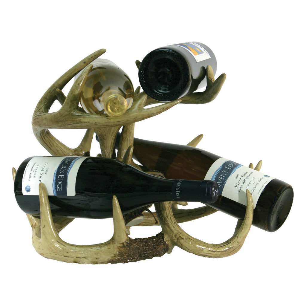 Wine Rack - Deer Antler