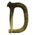 Decorative Deer Antler Letters, Wall Mounted