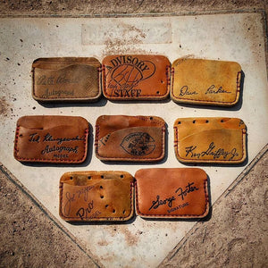 Baseball Glove Wallets