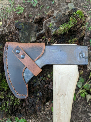 Council Tool Leather Axe Sheaths - (Flying Fox - Hudson Bay - 1.25 Belt Hatchet - 2.25lb Boys Axe)