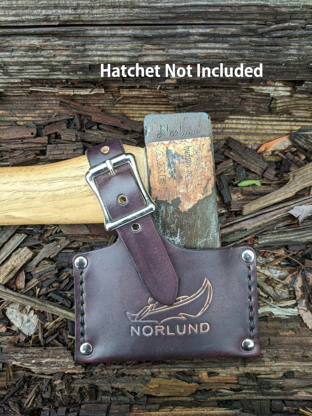 Reproduction Leather Sheath For The Norlund Voyageur Hudson Bay Hatchet