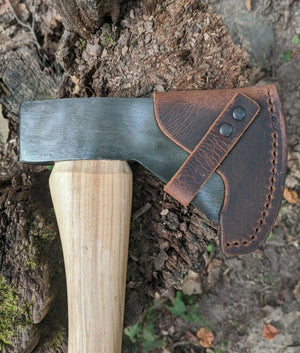 Snow & Nealley Hudson Bay Camping Axe Leather Sheath Mask (Axe Not Included)