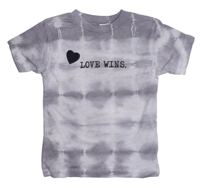 BABY Custom Tie-Dye LOVE WINS Tee