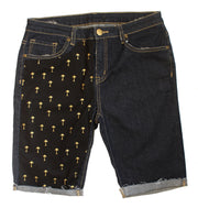 The Nicki's | Bermuda Short w/ Fabric Insert