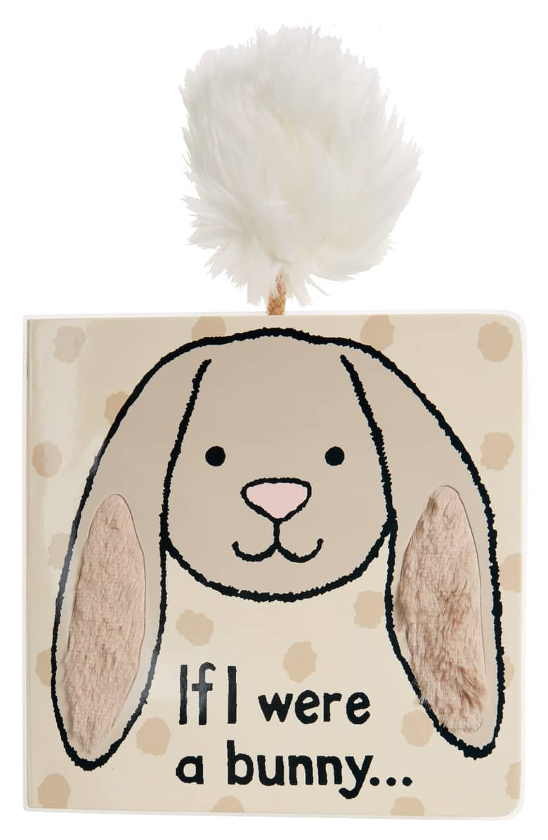 Jellycat   If I Were a Bunny book  Beige