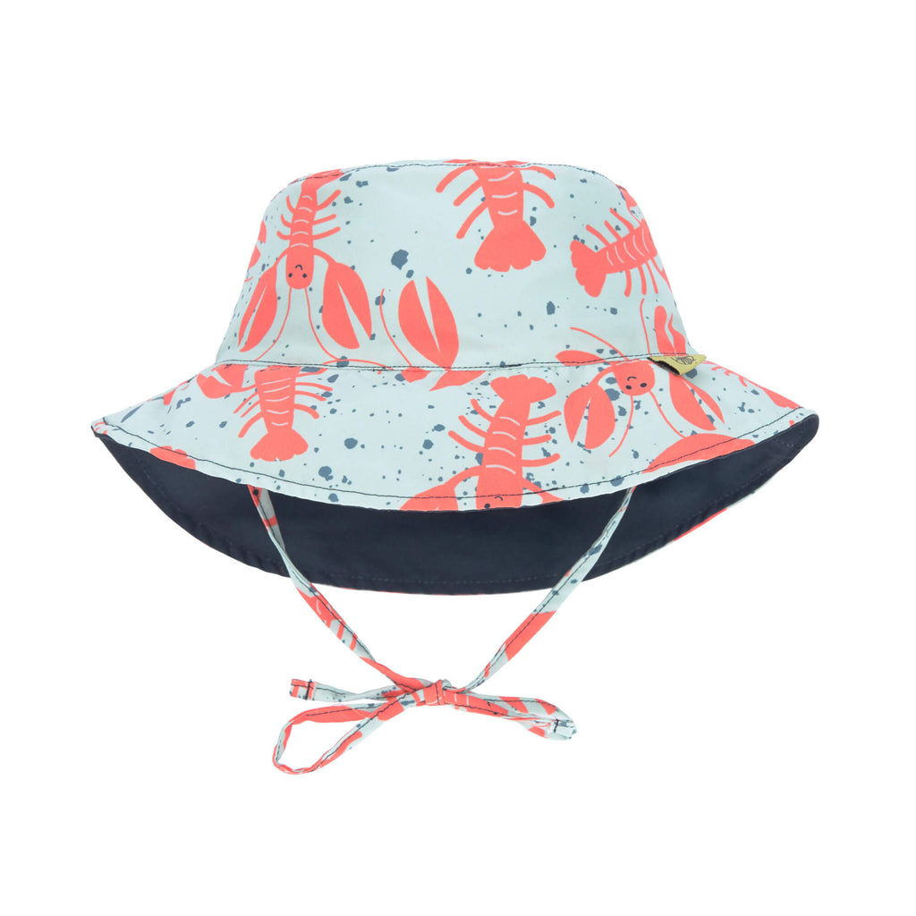 Lassig Sun Protection Bucket Hat - Lobster