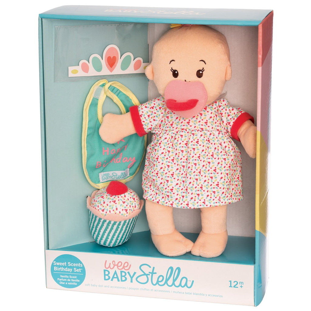 Manhattan Toy Company - Wee Baby Stella Sweet Scents Birthday Set