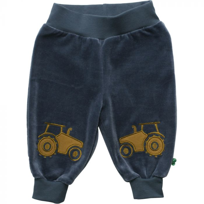 Fred's World by Green Cotton Navy Tractor front pants