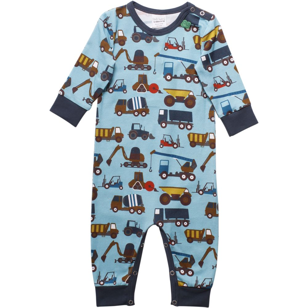 Fred's world by Green Cotton 1piece Trucks print