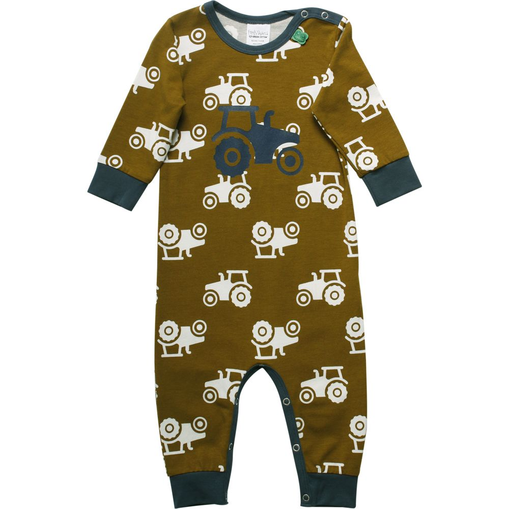 Fred's World by green Cotton Tractor 1 piece