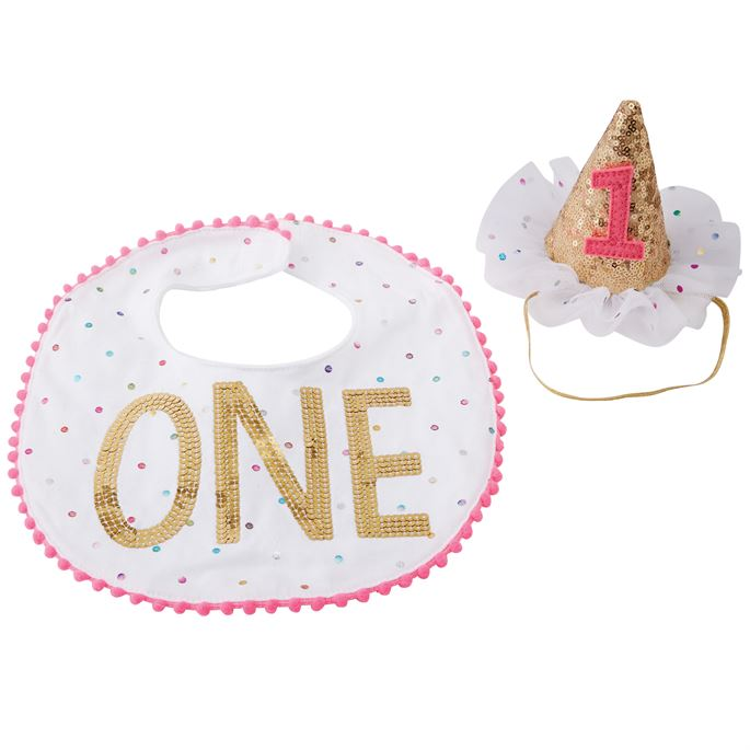 Mudpie Baby Girl Cake Smash Set