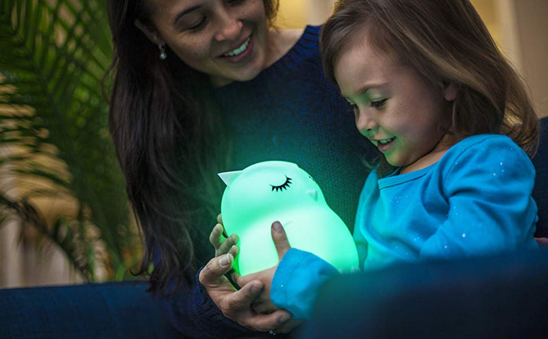 LumiPets LED Nightlight with Remote - Owl