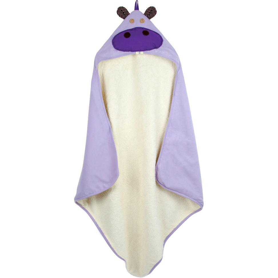 3 Sprouts Hooded Towel Hazel