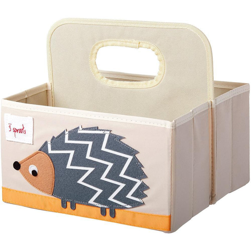 3 Sprouts Velvet Non-Slip Hangers (Set of 10) - Hedgehog