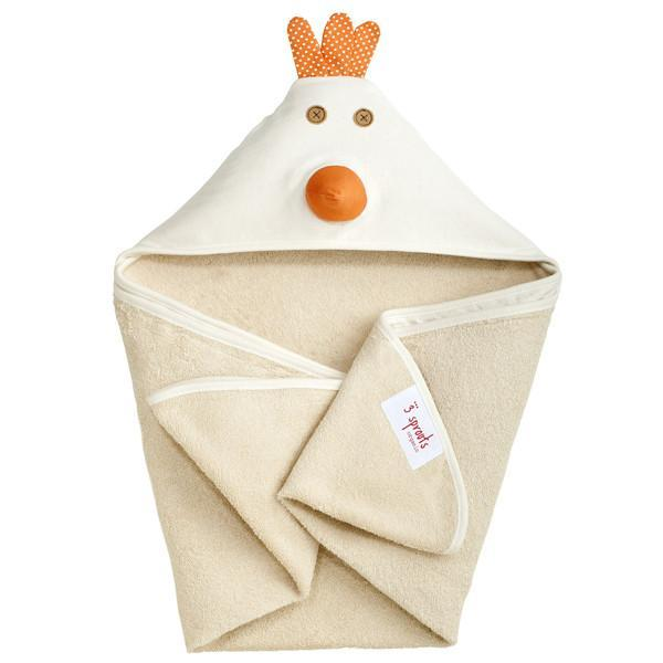 3 Sprouts Hooded Towel Chico