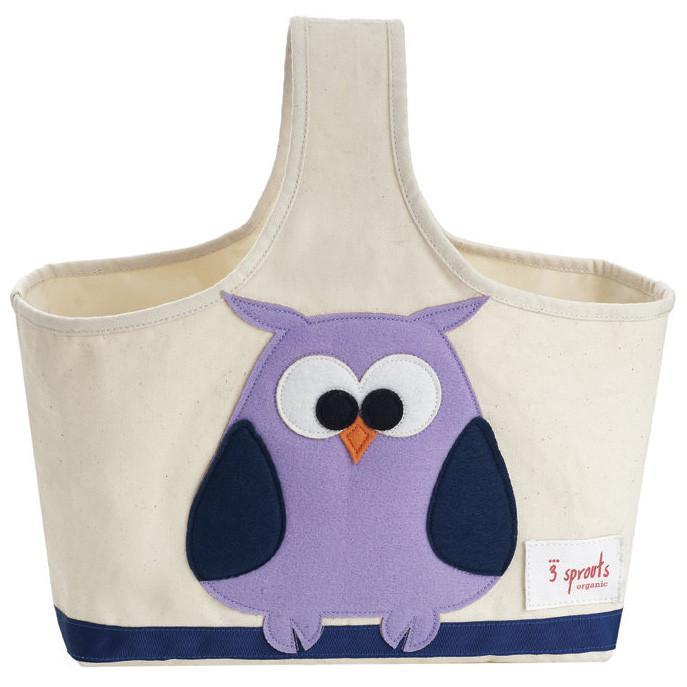 3 Sprouts Storage Caddy Owl