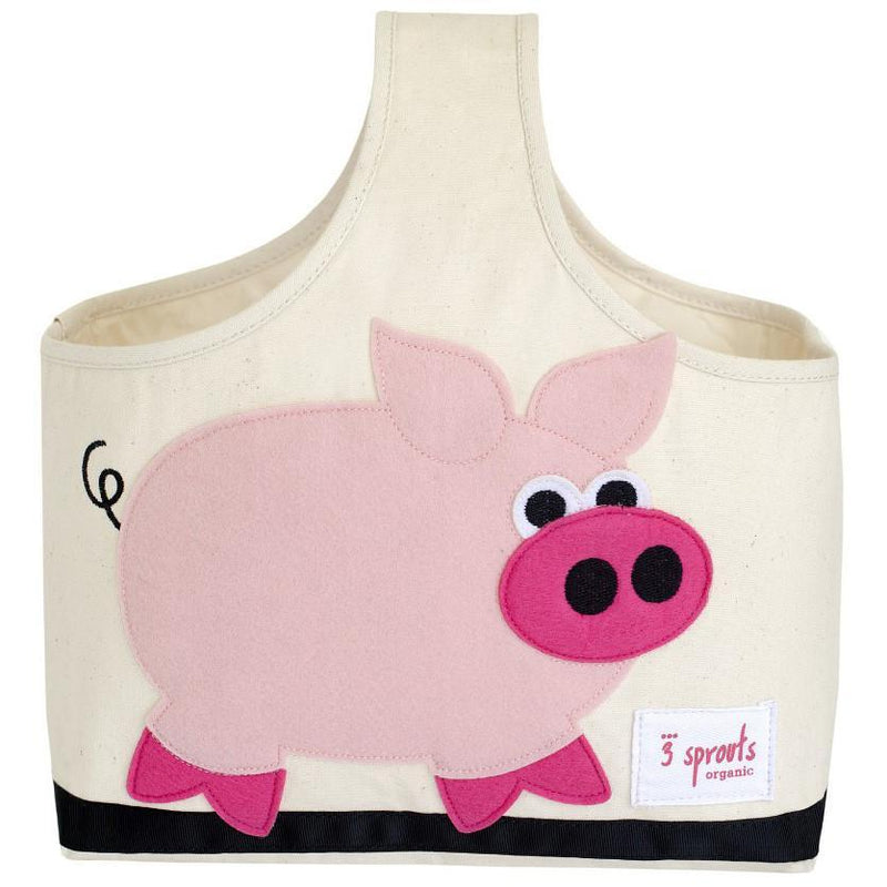 3 Sprouts Storage Caddy Pig