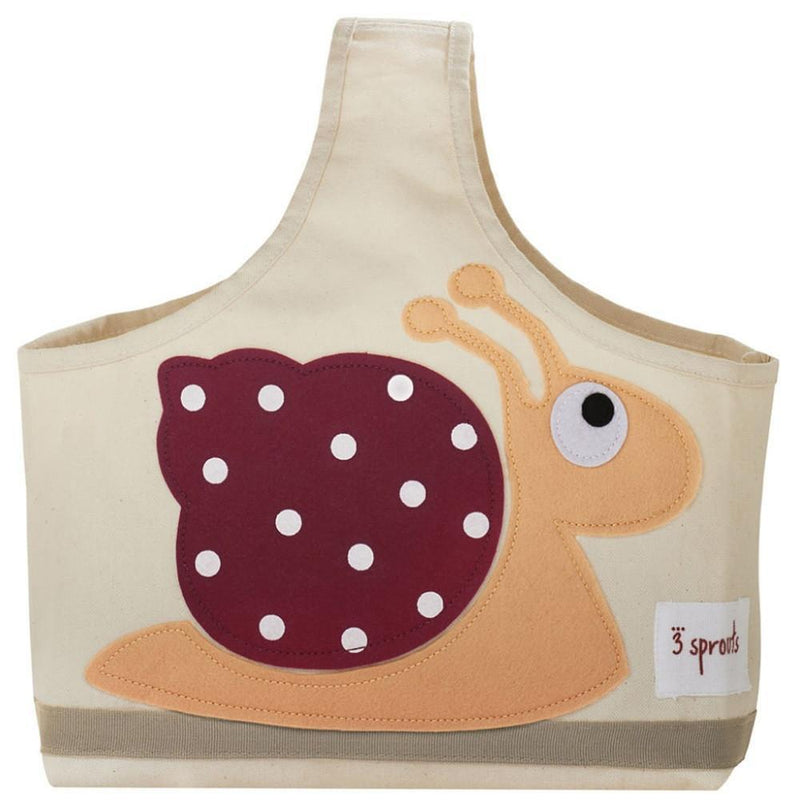 3 Sprouts Storage Caddy Snail