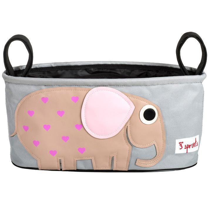 3 Sprouts Stroller Organizer Elephant