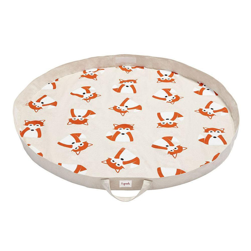 3 Sprouts Play Mat Bag Fox