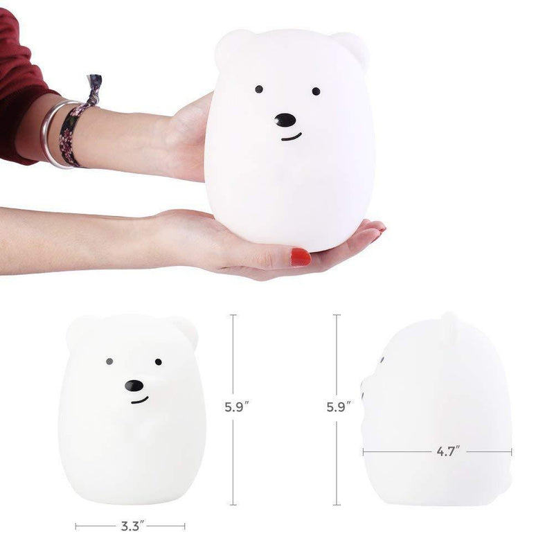 LumiPets LED Nightlight with Remote - Bear